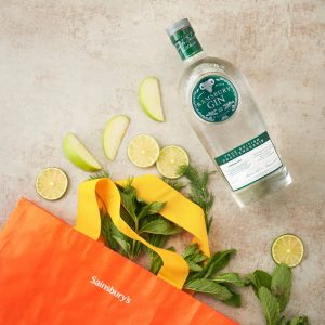Ramsbury Single Estate Gin brand, with Sainsbury content, a YesMore Gin Marketing Agency client for social media