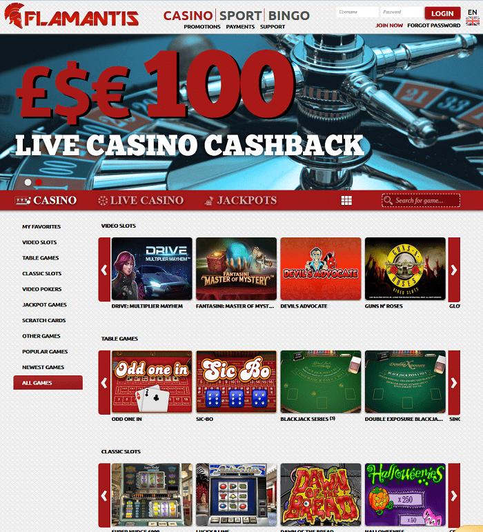 Flamantis Casino Review  Yes No Casino