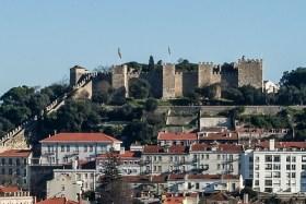 Video: Besuch des Castelo Sao Jorge von Lissabon in Portugal
