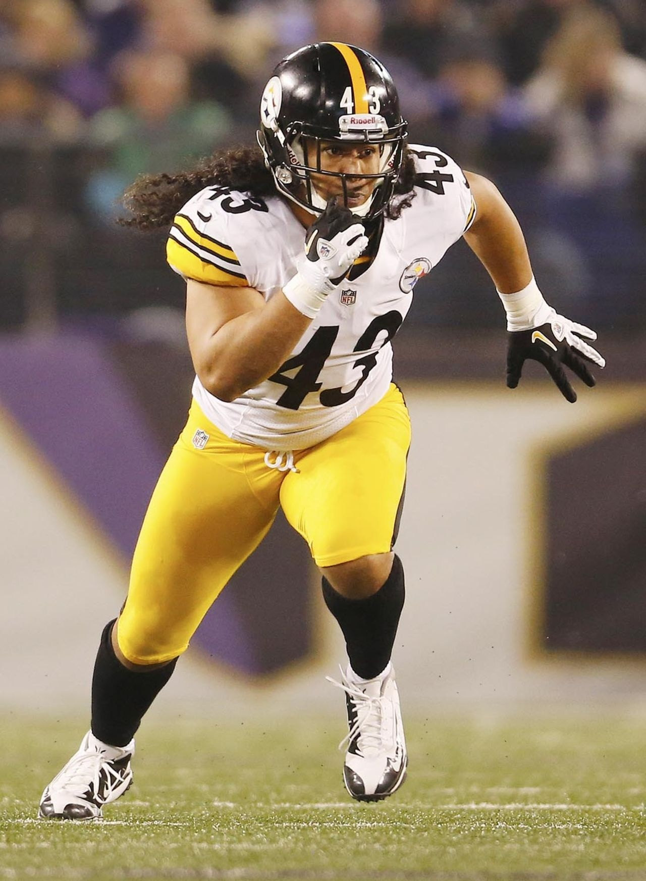 Pittsburgh Steelers Iphone Wallpaper Troy Polamalu Wallpapers High Quality Download Free