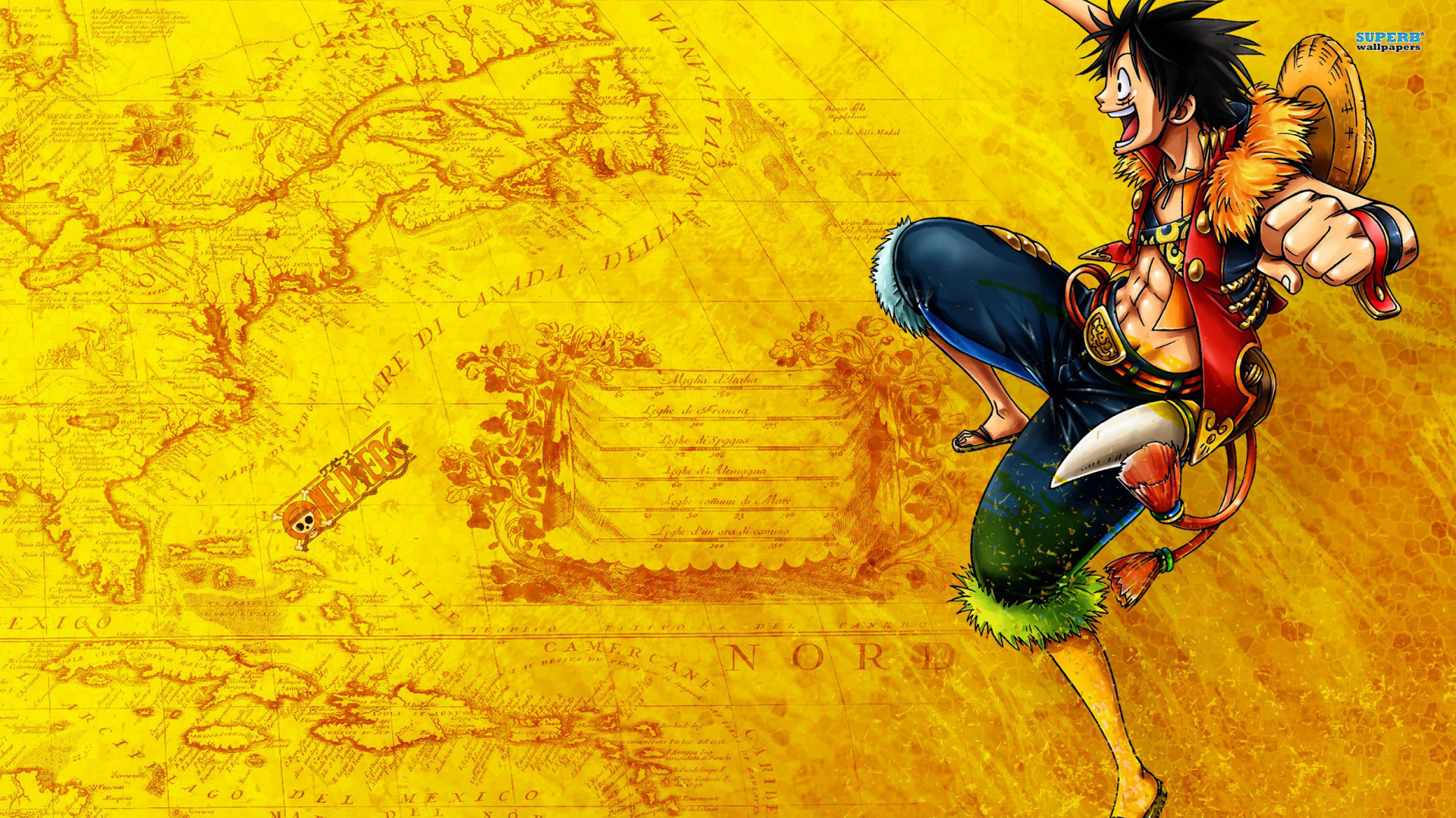 The great collection of one piece logo wallpaper for desktop,. Monkey D Luffy Wallpapers High Quality   Download Free