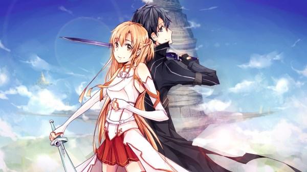 Sword Art Online Kirito and Asuna