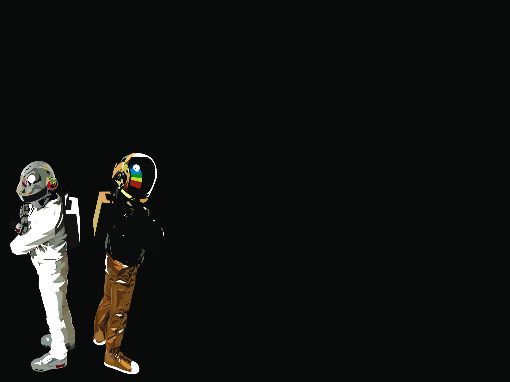 Draven And Girls Wallpaper Daft Punk Wallpapers High Quality Download Free