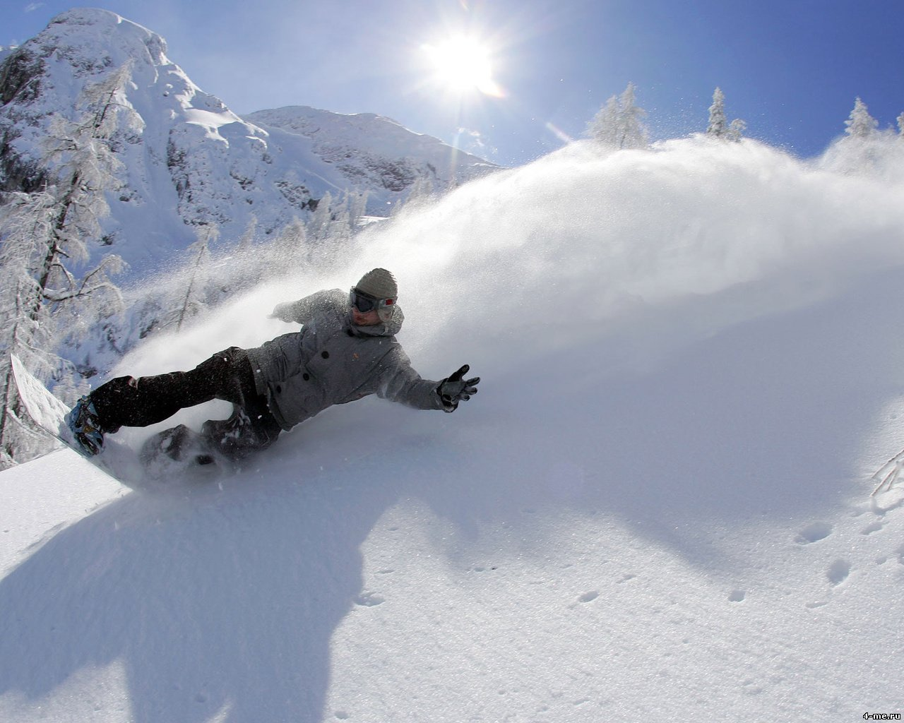 Snow Falling Background Wallpaper Snowboarding Wallpapers High Quality Download Free
