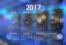 Calendar 2017 Wallpapers High Quality Free