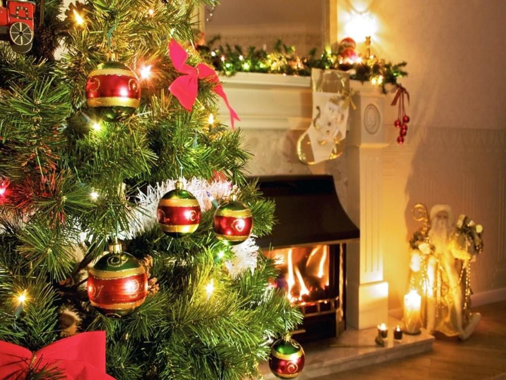 Christmas Fireplace Wallpapers High Quality  Download Free