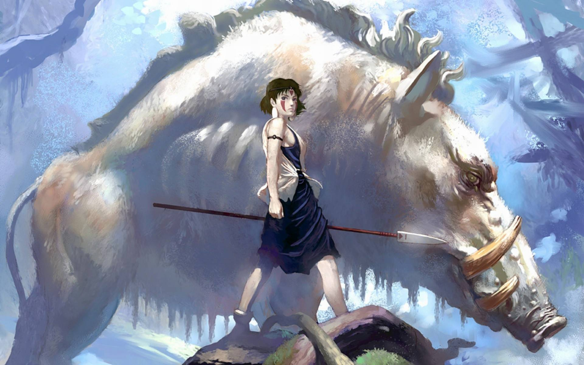 Where To Find The Best Asian Girl Wallpapers Princess Mononoke Wallpapers High Quality Download Free