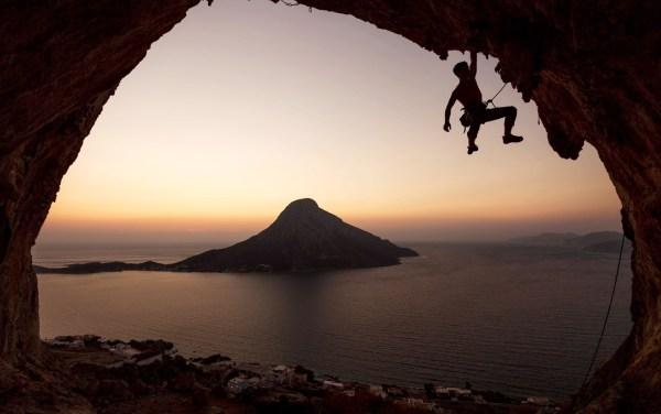 Rock Climbing Windows Wallpaper Desktop