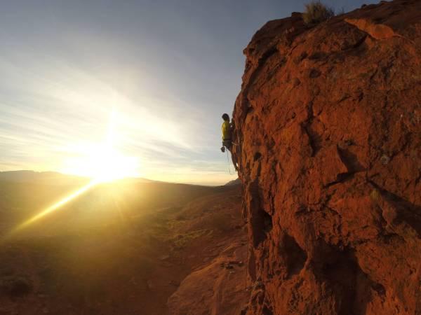 High Resolution Rock Climbing