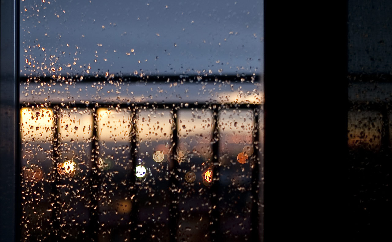 Raindrops Wallpaper Iphone The Rain Outside The Window Wallpapers High Quality