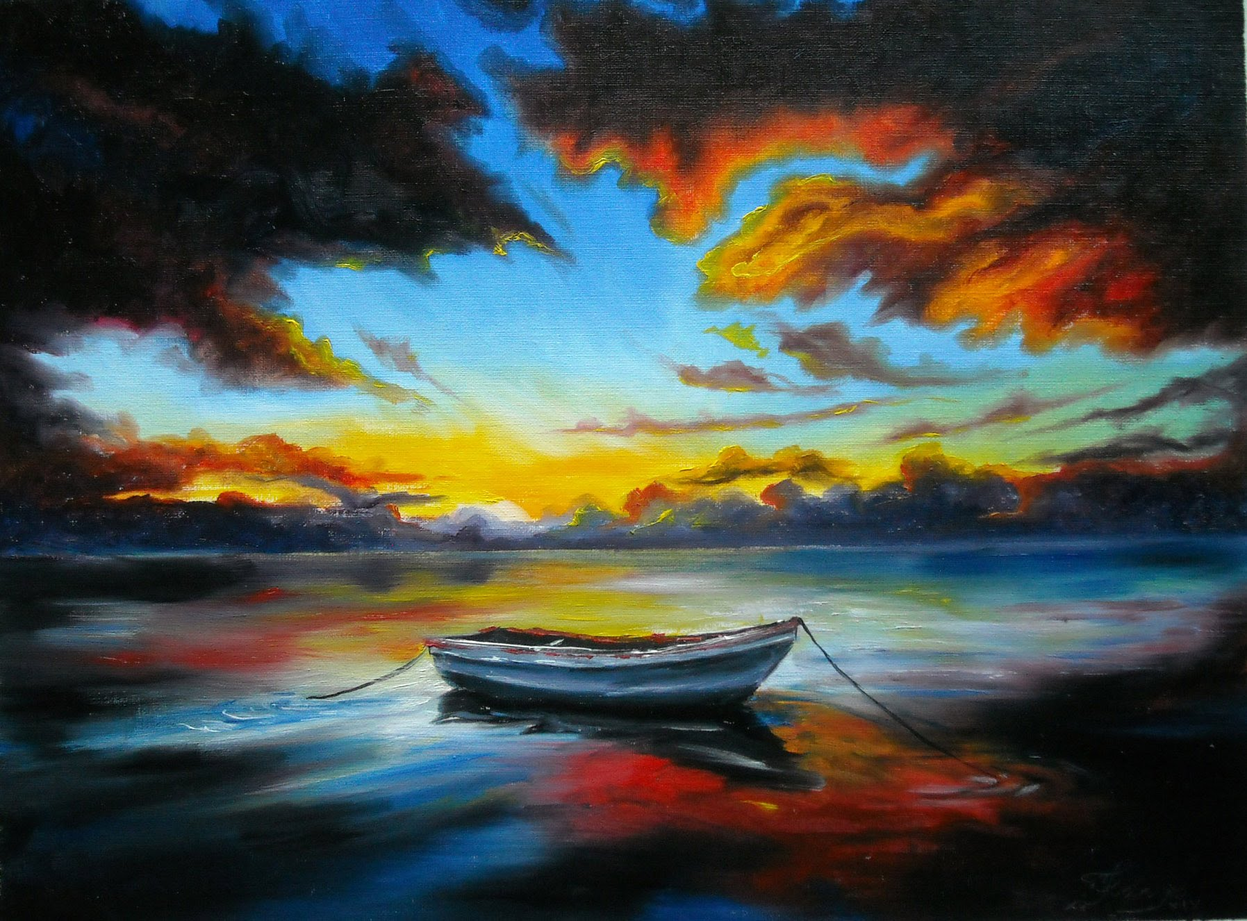 Oil Paint Wallpapers High Quality  Download Free