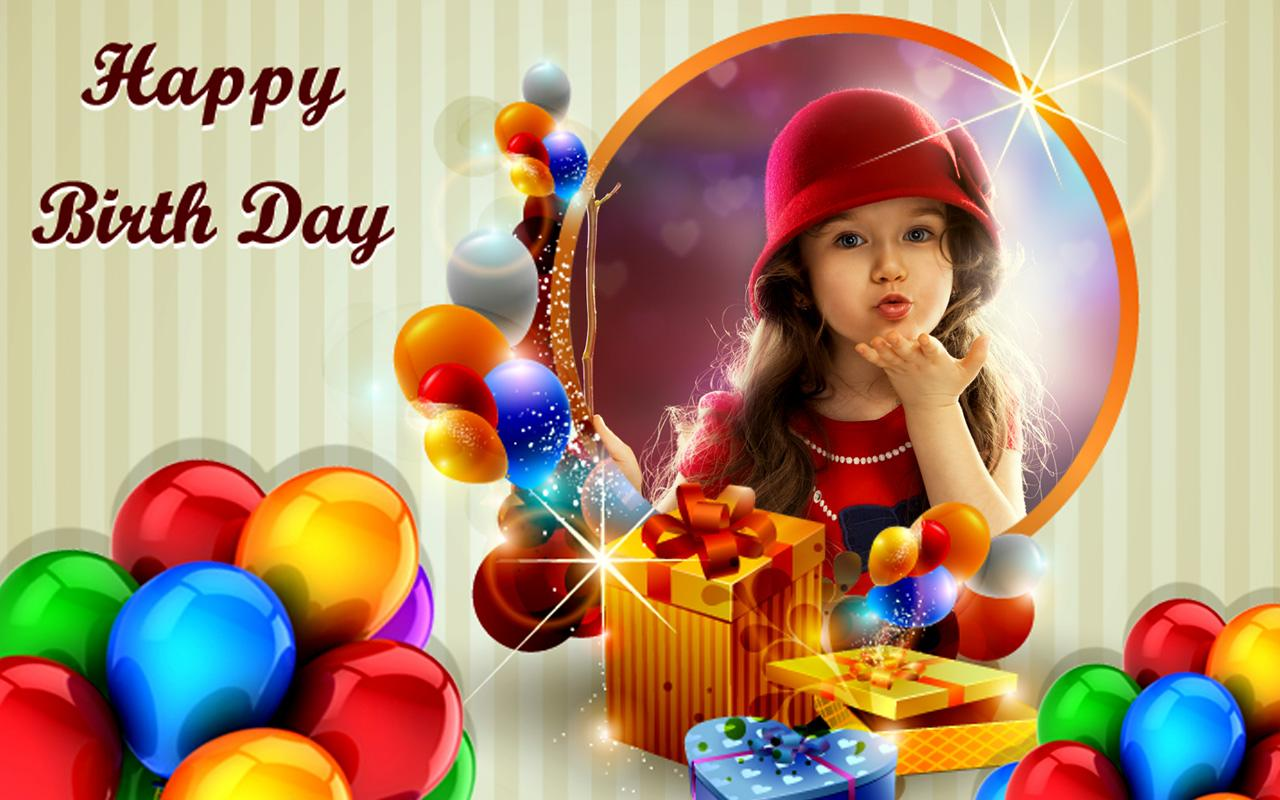 Iphone Collage Wallpaper Maker Happy Birthday Frame Wallpapers High Quality Download Free