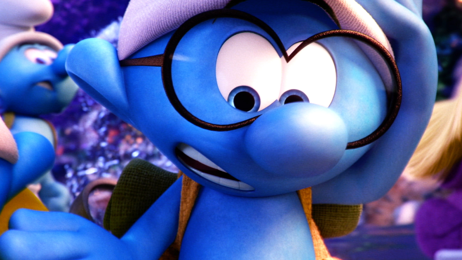 3d Smurfette Wallpapers The Smurfs The Lost Village Wallpapers High Quality