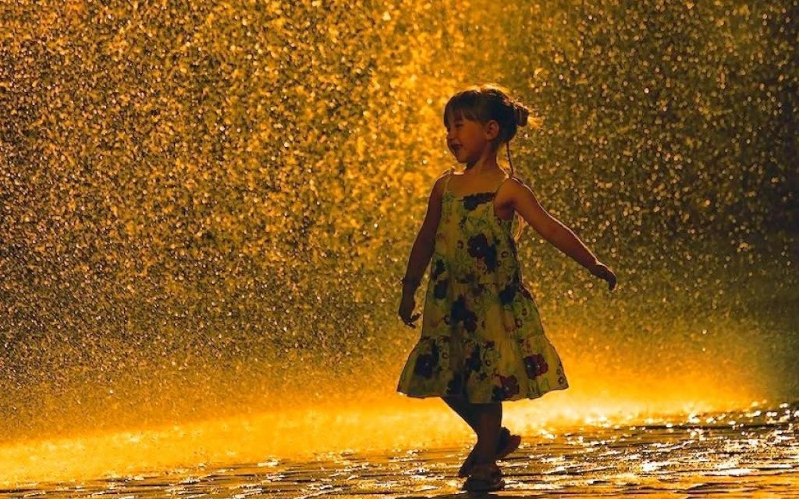 Wallpaper Sad Animated Girl Dancing In The Rain Wallpapers High Quality Download Free