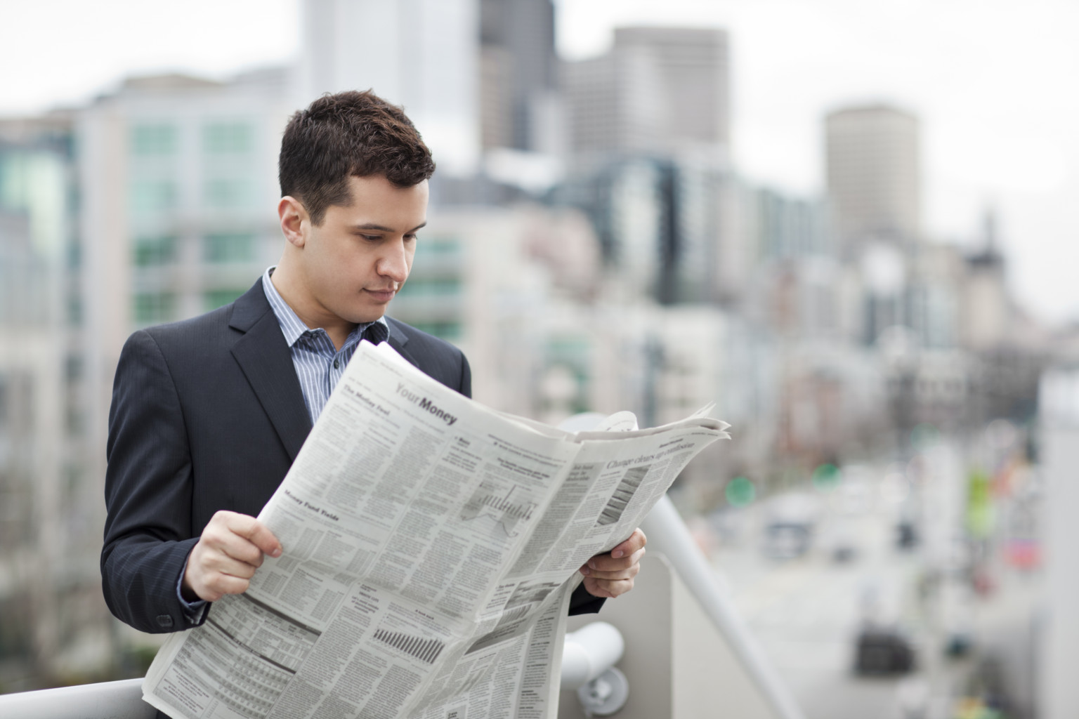 Read A Newspaper Wallpapers High Quality