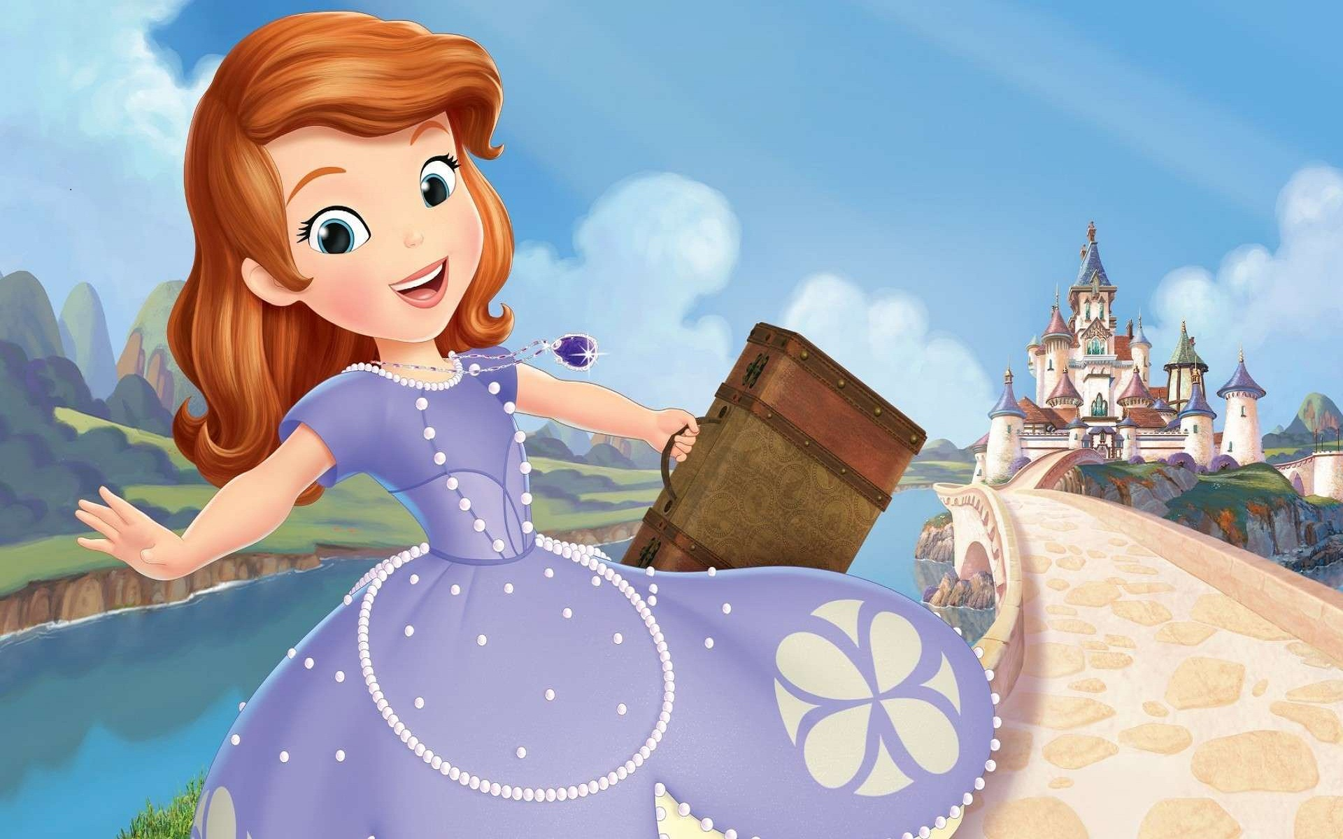 Sofia The First Once Upon A Princess Wallpapers High