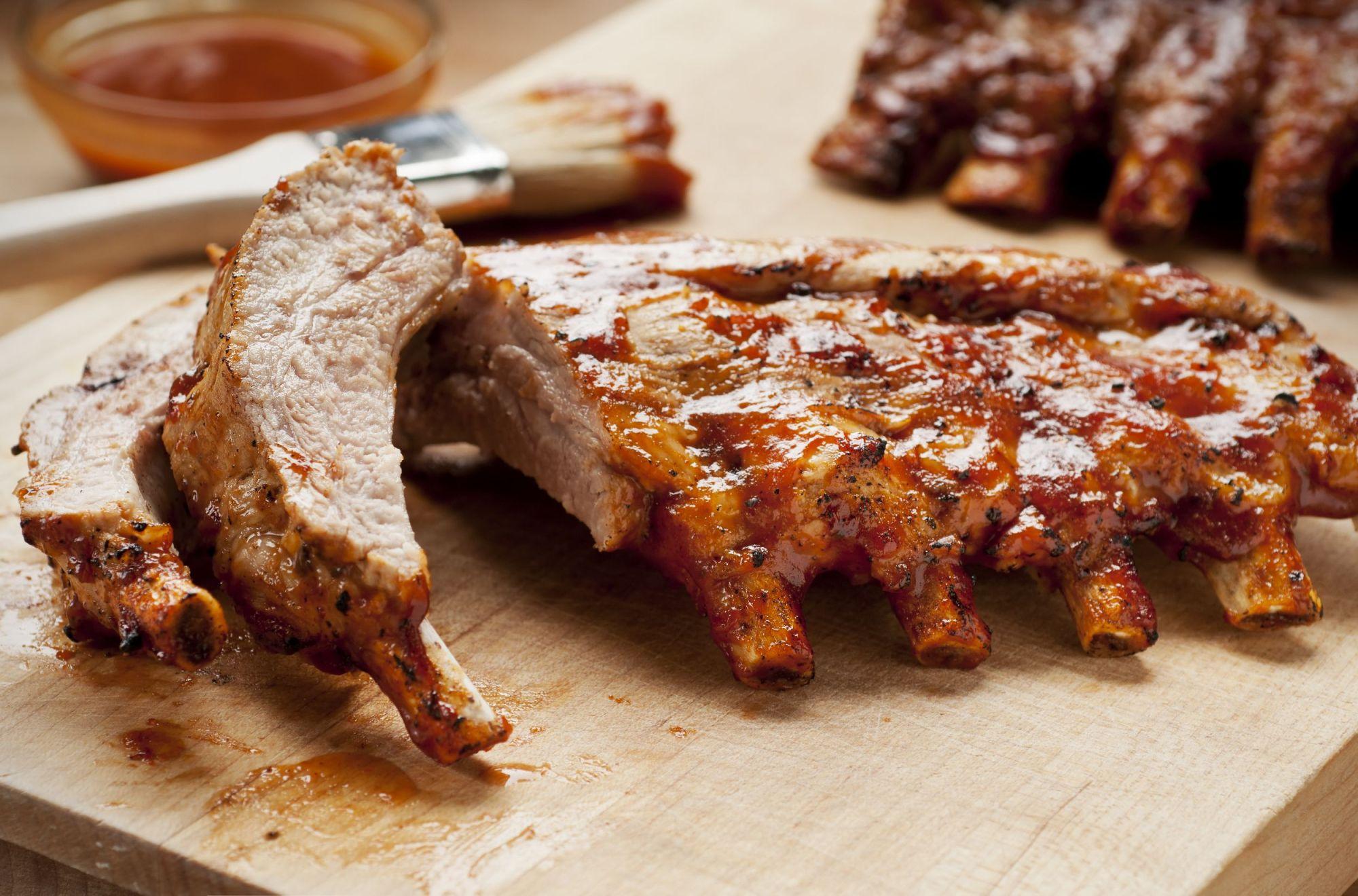 hight resolution of pork ribs desktop wallpaper hd