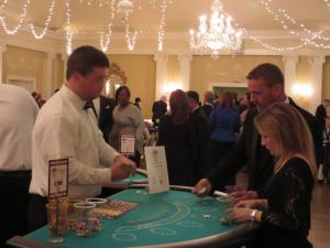 Casino night hosting