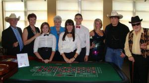 Company casino night hosting