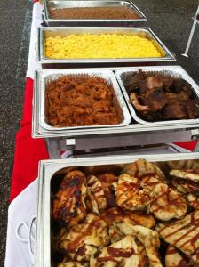 Corporate picnic catering