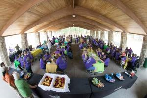 Corporate picnic hosting