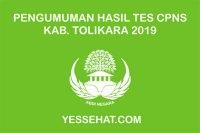 Pengumuman Kelulusan Akhir Tes CPNS Tolikara 2019