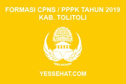 Formasi CPNS / PPPK / P3K Kabupaten Tolitoli 2019