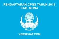 Pendaftaran CPNS Kabupaten Muna Tahun 2019