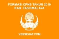 Formasi CPNS Kabupaten Tasikmalaya Tahun Anggaran 2019