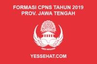 Formasi CPNS Provinsi Jawa Tengah Tahun Anggaran 2019