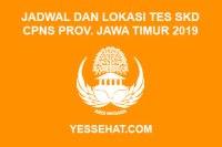 Jadwal dan Lokasi Ujian Tes SKD CPNS Provinsi Jawa Timur Tahun 2019