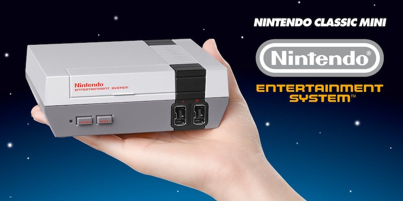 , Nintendo Classic Mini disponibile su Amazon