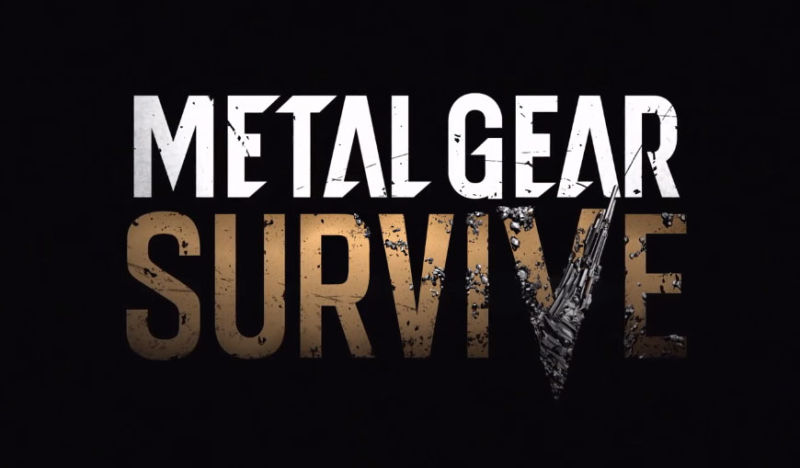 metal gear survive, Metal Gear Survive rimandato al 2018