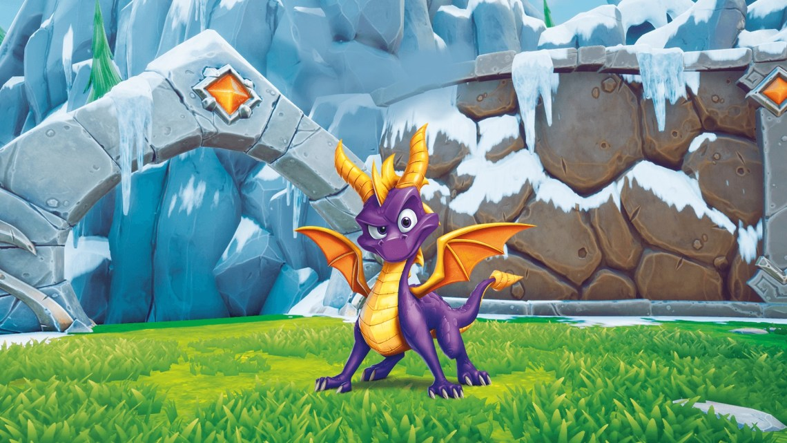 "spyro reignited trilogy, Spyro Reignited Trilogy: Gameplay del livello ""Colossus"""