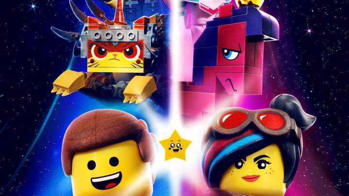 "Poster for the movie ""The Lego Movie 2: Una nuova avventura"""