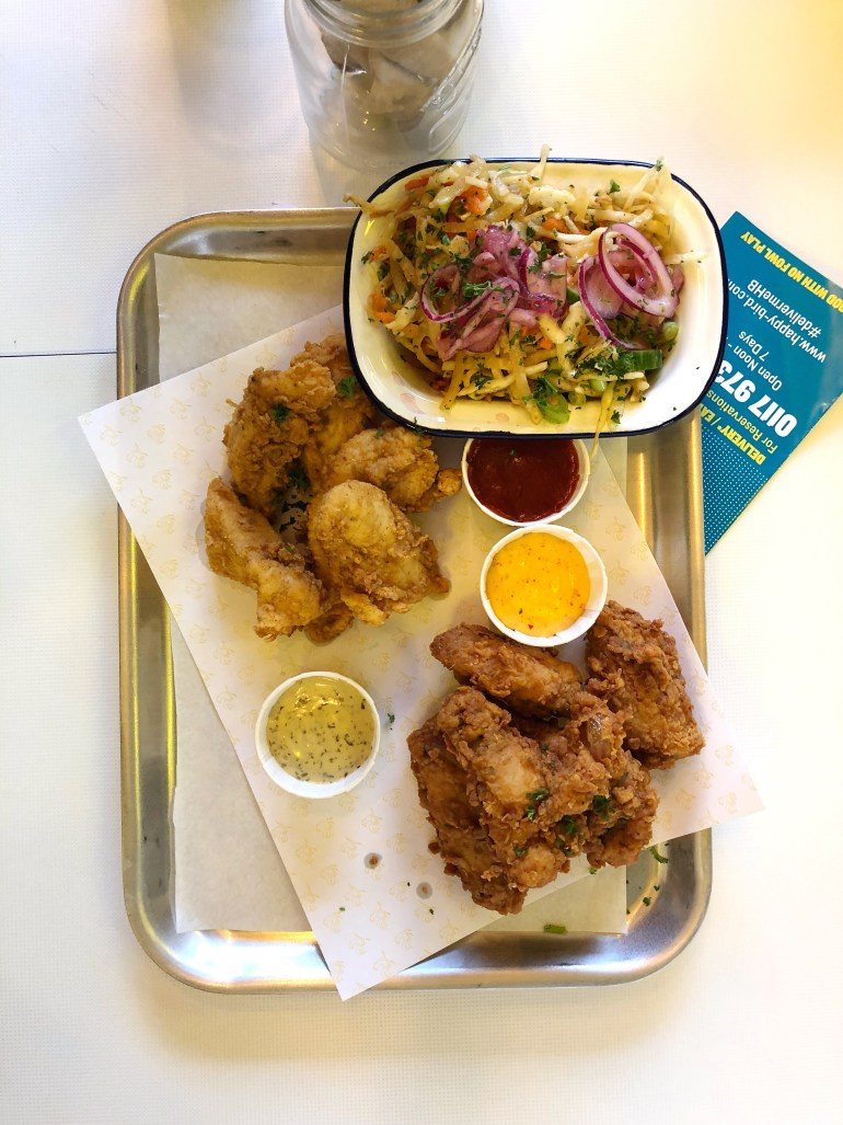 Wings, Slaw and Tenders | Happy Bird Bristol | Yes Starling