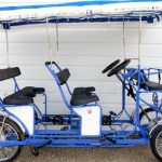 4 Wheel Pedal Quadricycle Surrey Bikes double bench six person Surrey Bike