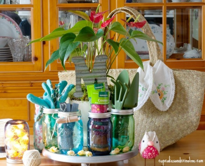Thirty Mason Jar Ideas For Mother's Day Yesterday On Tuesday