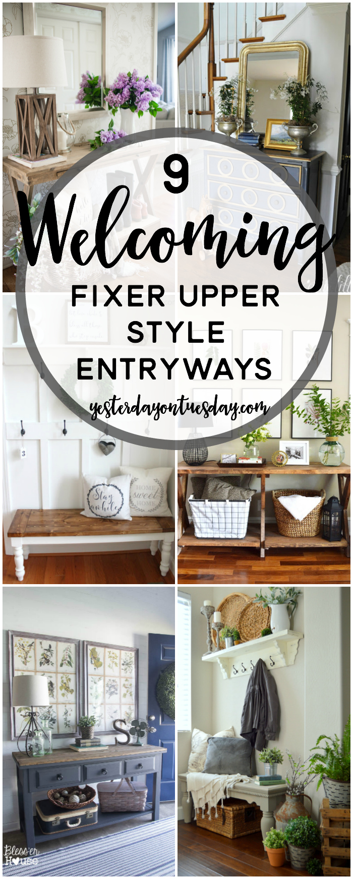 9 Fixer Upper Style Plant Decor Ideas Yesterday On Tuesday