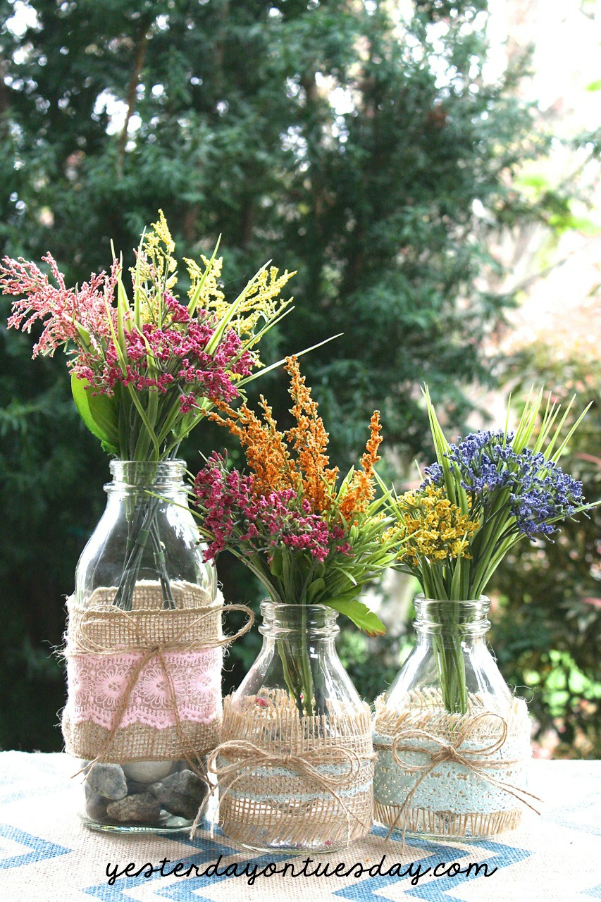 A Dozen Fixer Upper Style Floral Ideas  Yesterday On Tuesday
