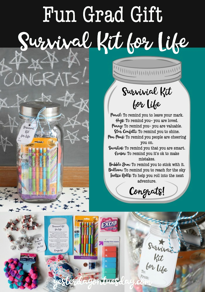 Funny College Survival Kit : funny, college, survival, Survival, Graduation, Yesterday, Tuesday