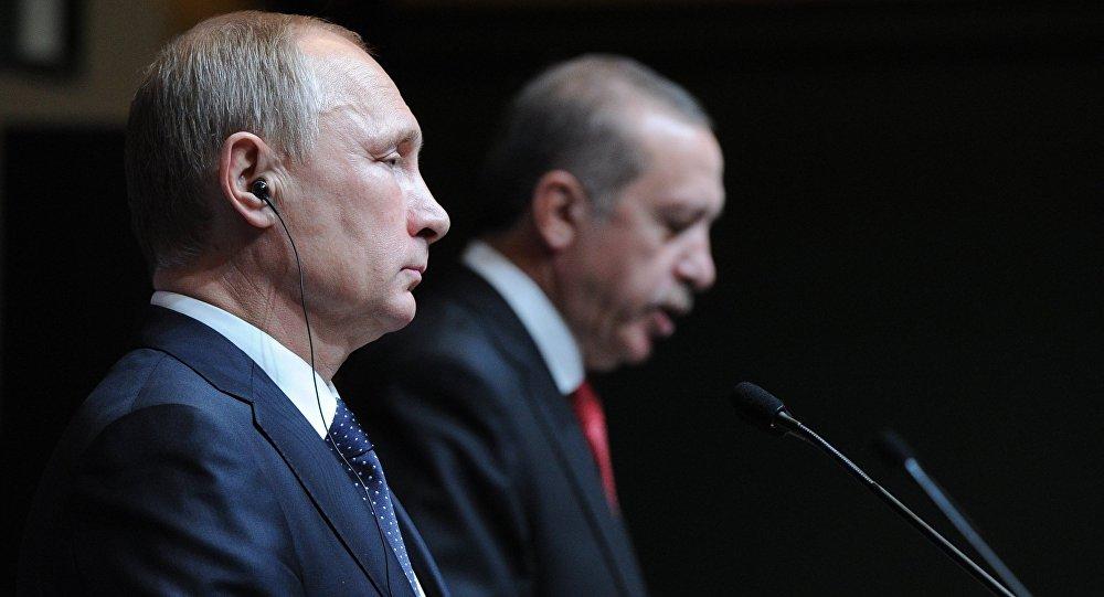 Putin, Erdogan Speak Over Phone After Murder of Russian Ambassador in Ankara