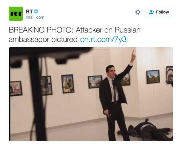 BREAKING: RUSSIAN AMBASSADOR ASSASSINATED IN TURKEY (VIDEO)