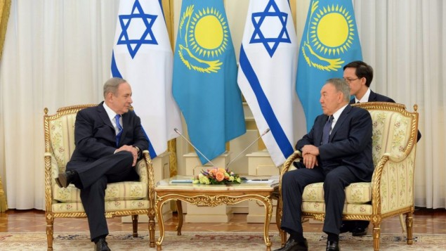 Muslim Kazakhstan asks Netanyahu for help in war on terror