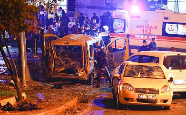 Turkish Deputy PM says Kurdish militant PKK may be behind Istanbul attack