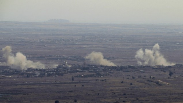 IDF fires on Syrian post after shell lands in Golan