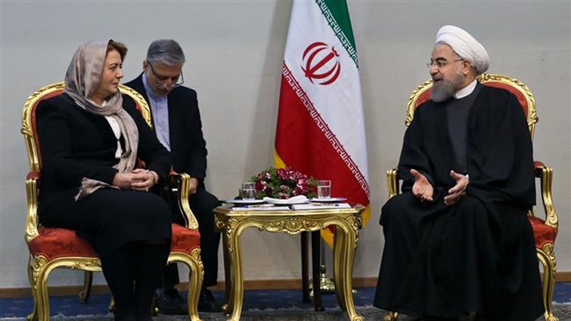 Iran to stand by Syria until ultimate victory: President Rouhani