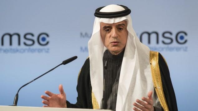 Praising Trump, Saudi FM urges progress toward Israeli-Arab peace