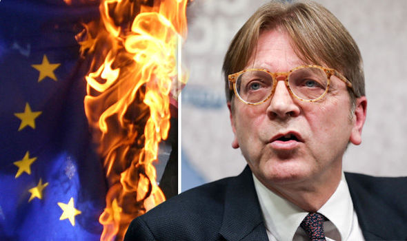 The EU could DISAPPEAR! Brussels chief negotiator admits DISINTEGRATION IS possible