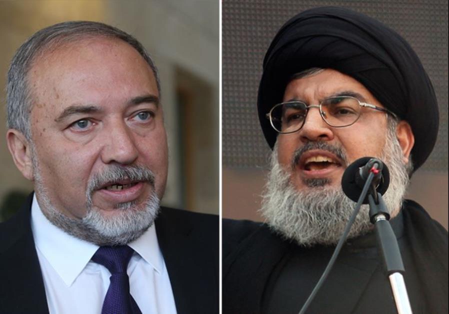 LIBERMAN TELLS HEZBOLLAH'S NASRALLAH TO 'STAY IN HIS BUNKER'